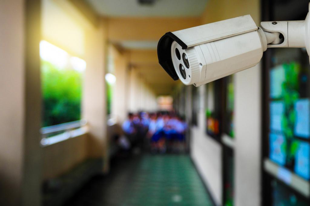Видеонаблюдение для детского сада