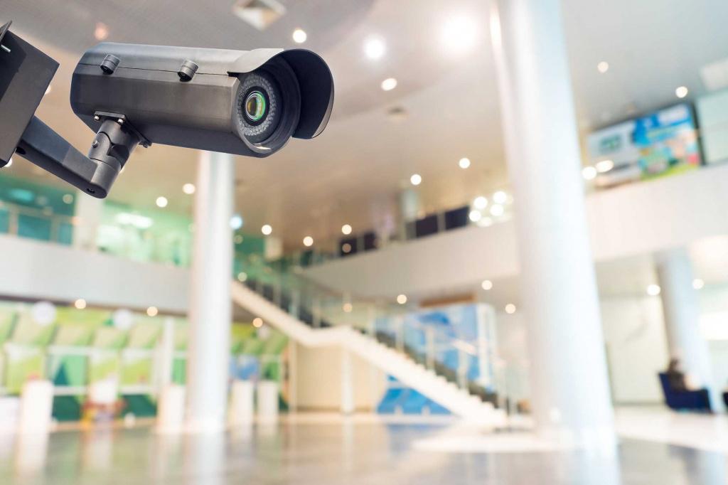 Видеонаблюдение для бизнес-центров